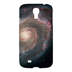 Whirlpool Galaxy And Companion Samsung Galaxy S4 I9500/i9505 Hardshell Case by SpaceShop