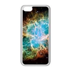 Crab Nebula Apple Iphone 5c Seamless Case (white) by SpaceShop