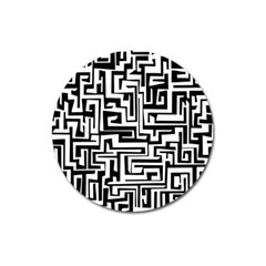 Pattern Magnet 3  (round) by Valentinaart
