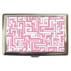 Pink Pattern Cigarette Money Cases by Valentinaart
