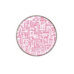 Pink Pattern Hat Clip Ball Marker by Valentinaart