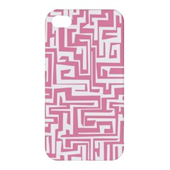 Pink Pattern Apple Iphone 4/4s Hardshell Case by Valentinaart