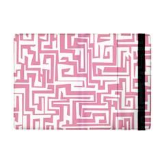 Pink Pattern Apple Ipad Mini Flip Case by Valentinaart