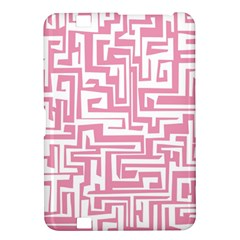 Pink Pattern Kindle Fire Hd 8 9  by Valentinaart