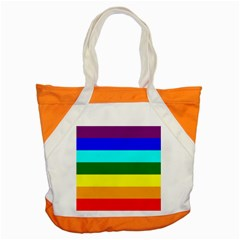 Rainbow Accent Tote Bag by Valentinaart