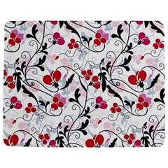 Floral Pattern Jigsaw Puzzle Photo Stand (rectangular) by Valentinaart