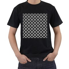 Pattern Men s T Shirt (black) (two Sided) by Valentinaart
