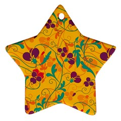 Floral Pattern Ornament (star) by Valentinaart
