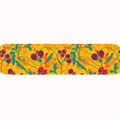 Floral Pattern Large Bar Mats by Valentinaart
