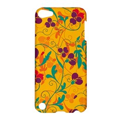 Floral Pattern Apple Ipod Touch 5 Hardshell Case by Valentinaart