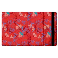 Floral Pattern Apple Ipad 3/4 Flip Case by Valentinaart
