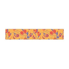 Floral Pattern Flano Scarf (mini) by Valentinaart