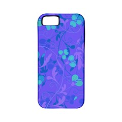 Floral Pattern Apple Iphone 5 Classic Hardshell Case (pc+silicone) by Valentinaart