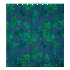 Floral Pattern Shower Curtain 66  X 72  (large)  by Valentinaart