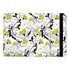 Floral Pattern Samsung Galaxy Tab Pro 10 1  Flip Case by Valentinaart