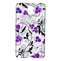 Floral Pattern Samsung Galaxy Note 3 N9005 Hardshell Case by Valentinaart