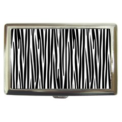 Zebra Pattern Cigarette Money Cases by Valentinaart