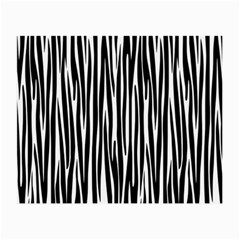 Zebra Pattern Small Glasses Cloth by Valentinaart