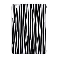 Zebra Pattern Apple Ipad Mini Hardshell Case (compatible With Smart Cover) by Valentinaart