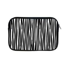 Zebra Pattern Apple Ipad Mini Zipper Cases by Valentinaart