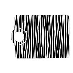 Zebra Pattern Kindle Fire Hd (2013) Flip 360 Case by Valentinaart