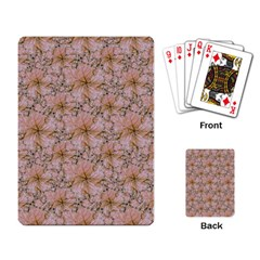 Nature Collage Print Playing Card by dflcprints