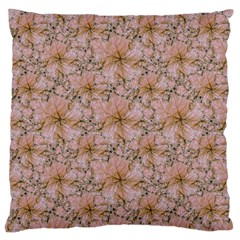 Nature Collage Print Large Cushion Case (one Side) by dflcprints