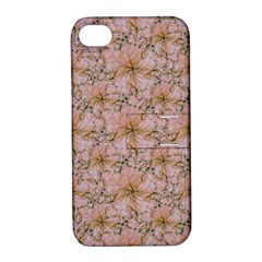 Nature Collage Print Apple Iphone 4/4s Hardshell Case With Stand by dflcprints