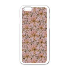 Nature Collage Print Apple Iphone 6/6s White Enamel Case by dflcprints