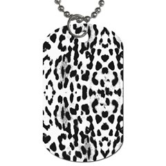 Animal Print Dog Tag (two Sides) by Valentinaart