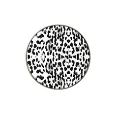 Animal Print Hat Clip Ball Marker (4 Pack) by Valentinaart