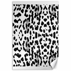 Animal Print Canvas 24  X 36  by Valentinaart
