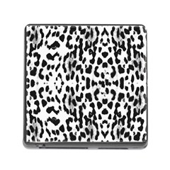 Animal Print Memory Card Reader (square) by Valentinaart
