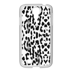 Animal Print Samsung Galaxy S4 I9500/ I9505 Case (white) by Valentinaart