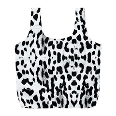 Animal Print Full Print Recycle Bags (l)  by Valentinaart