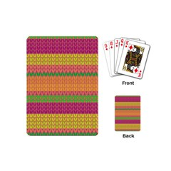 Pattern Playing Cards (mini)  by Valentinaart