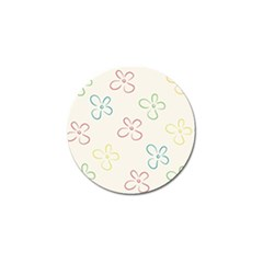Flower Background Nature Floral Golf Ball Marker (10 Pack) by Simbadda