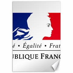 Symbol Of The French Government Canvas 12  X 18   by abbeyz71