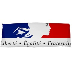 Symbol Of The French Government Body Pillow Case (dakimakura) by abbeyz71