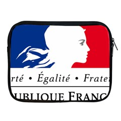 Symbol of the French Government Apple iPad 2/3/4 Zipper Cases
