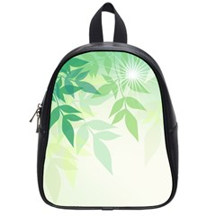 Spring Leaves Nature Light School Bags (small)  by Simbadda