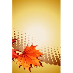 Background Leaves Dry Leaf Nature 5 5  X 8 5  Notebooks by Simbadda