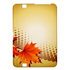 Background Leaves Dry Leaf Nature Kindle Fire Hd 8 9  by Simbadda