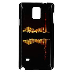 Waste Incineration Incinerator Samsung Galaxy Note 4 Case (black) by Simbadda