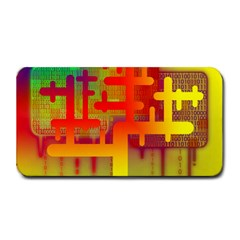 Binary Binary Code Binary System Medium Bar Mats by Simbadda