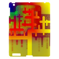 Binary Binary Code Binary System Apple Ipad 3/4 Hardshell Case by Simbadda