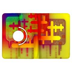 Binary Binary Code Binary System Kindle Fire Hdx Flip 360 Case by Simbadda