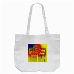 Binary Binary Code Binary System Tote Bag (white) by Simbadda