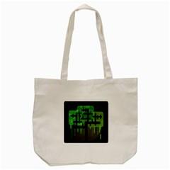 Binary Binary Code Binary System Tote Bag (cream) by Simbadda