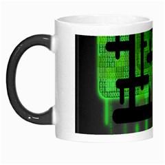 Binary Binary Code Binary System Morph Mugs by Simbadda